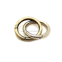Fashion High Quality Metal Snap Ring With Spring