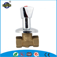 HOT SALE self closing cw617n 1/2 inch water valves on or off sanitary valve
