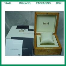 fancy shape luxury hot sale wooden brand watch box