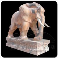 Professional Carved Yellow sandStone Elephant with Low Price