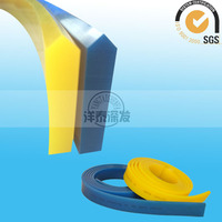 Yangtai Factory supply screen printing v squeegee blue