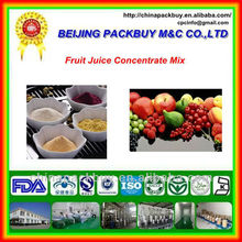100% Pure Natural and High Quality Fruit Juice Concentrate Powder: fruit juice concentrate mix