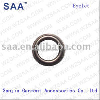 used for apparel garment shoes metal brass eyelet