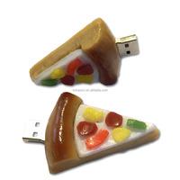 Alibaba china Free shipping 8G 16G 32G 64G Pizza USB flash