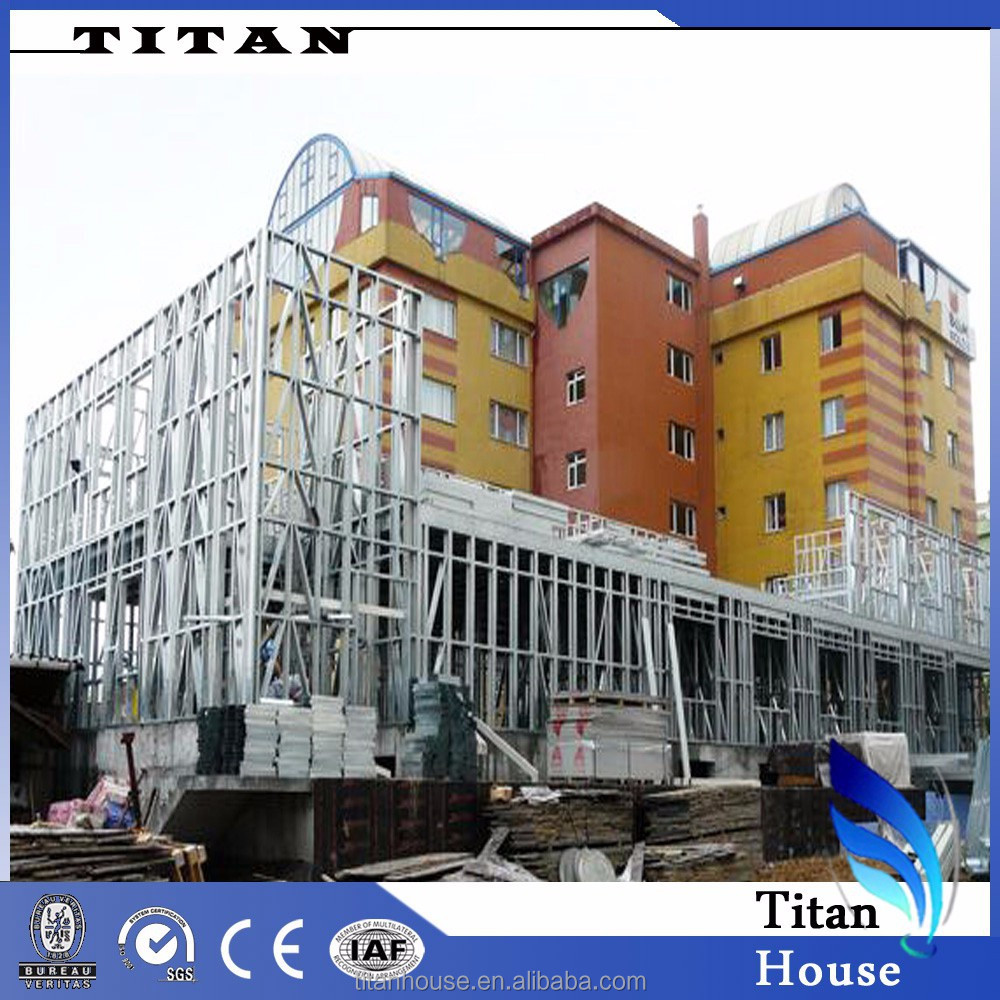 Steel Frame Structure Prefab Apartment Building Buy