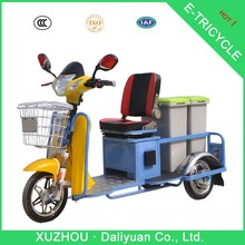 mini garbage motorcycle/tricycle for cargo gas motor tricycle
