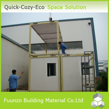 Good insulated Ecological Roller Shutter Door Container House