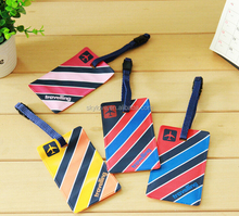 good quality waterproof airport with stripe anti-lost luggage tag bag hang tag