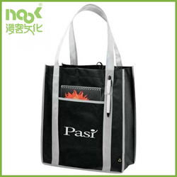 Low Price For Promotion Customized Logo Non Woven Bag Shopping