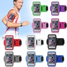 New Fashion Workout Phone Armband Gym Running Sport Arm Band Protective Cover Case For iPhone 6 Plus 5.5 Hgih Quanlity Wholesale