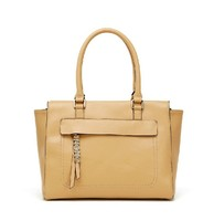 Customized logo package lady leather handbags thailand