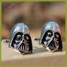 Daihe CFD234 Darth Vader Cufflinks Star Wars Stainless Steel