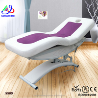2015 new wholesale and durable wave face manual massage bed/ massage table (KM-8809)