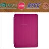 high quality three folding PU leather case for ipad Air with best price