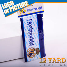 Real madrid fashion pen bag with a pattern of movement football fans pencil bag