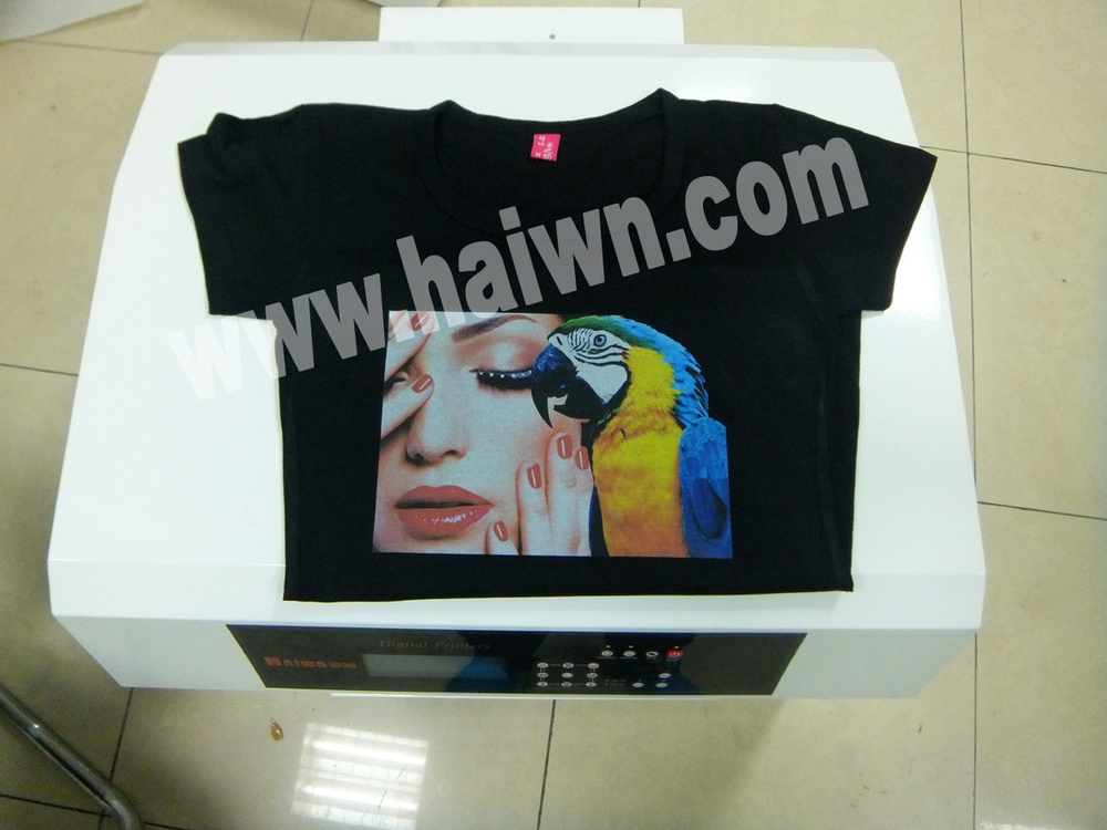 Dye Sublimation Ribbon Printer T Shirt 3d Effect Printer