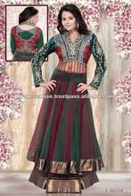 Frock Style designer heavy salwar wedding suits kameez