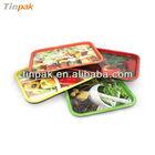 Retangular bandeja de lata fabricante alibaba
