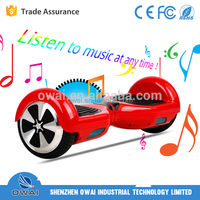 2015 Best Sale Smart Self Balancing Hands Free Electric Scooter With LED Lights