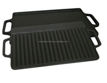 cast iron preseasoned fry pan,cast iron enamel grill pan