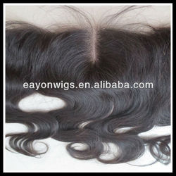 Eayon Hair Middle parting lace closure , top quality popular ear to ear full lace frontal closures