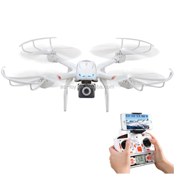 2.4GHz 4CH 6 axis gyro one key to return headless brushless motor RC airplane with real time FPV X101