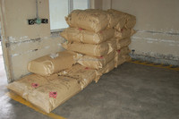 NITROCELLULOSE soft type with bag in the warehouse with mark with Nicelo brand for Cellulose in the coner in a pile
