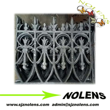 China Manufacturer of Cast Iron Fence Pickets Fer Decore Elements,Cast/Forged Insert Ornaments from Branded Quality Factory