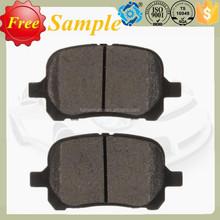 Brake pads D707 for Lexus/Toyota ES300/RX300/Camry/Avalon/Solara 1997