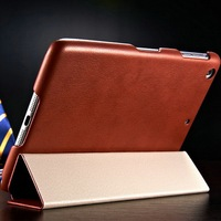 Electronics accessory of PU leather tablet case for Ipad mini 2