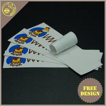 Promotion Smile face PVC Light Reflective Stickers, sticker