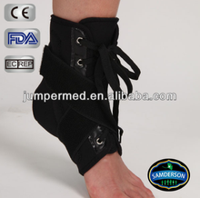 AN-502 Sports lace up canvas ankle brace/ankle support/ankle wrap