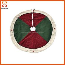factory direct sale diameter 90cm christmas tree skirts wholesale