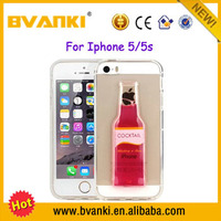 Alibaba Express Turkey Newest Popular 3D Liquid Phone Case Covers For iPhone 5 5S,Cube Phone Accessories For iPhone 5S 5 Case