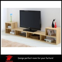 Made in China Furniture Modern Designs Wooden Lcd TV Trolley