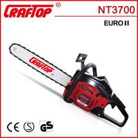 gasoline chain saw portable wood cutting machine HUS137