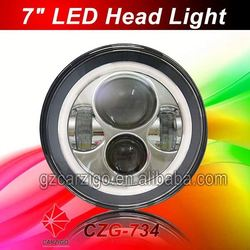 latest released IP67 watertight ATV 7 inch round head light for defender