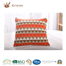 2015 NEW Designed Cushion with soft-hand feeling, attractive triangle style and beautiful colour