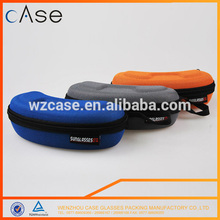 2015 wenzhou case big EVA wholesale sunglass case with net