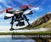2015 flying camera helicopter X380 2.4G 6-axis gyro plastico remoto control rc quadcopter with HD camera GPS