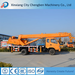 Superior Crane Manufacturer Telescopic Truck Cranes 12 Ton