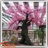 outdoor decorative fake fabric artificial flowers cherry blossom plastic cherry blossom trees