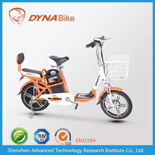 Chinese 2015 hot selling 16 inch tire electric hybrid moped/scooter with pedal for adults