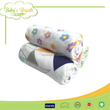 MS276 plain dyed healthy eco-friendly organic cotton baby blanket, bamboo blanket, bamboo swaddle