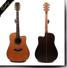 Finlay FG-A60 feshanm foshan wholesale good quality electric acoustic all solid wood guitar
