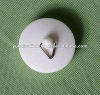 bath or kitchen round rubber sink plug