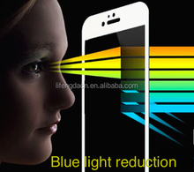 2015 newest blue light cut glass full screen coverage glass protector with Corning glass 0.2mm