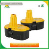 wholesale Replacement Power Tool Dewalt 18v battery for DW9096 DW9098