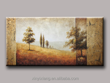 New arrival landscape wholesale art craft acrylic painting