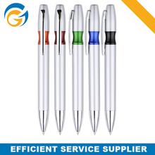 Silver Color Lip Promotional Plastic Pen